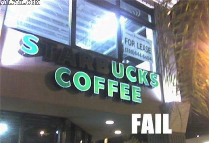 sucks coffee